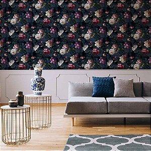 Papel de Parede Green Park Floral Flores 108623