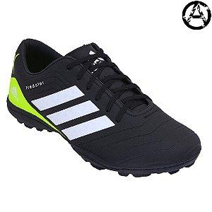Chuteira Adidas Predator Campo Society Masculina - Preto e Branco
