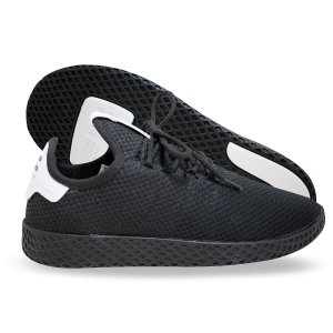 Tênis Pharrell William HU Masculino - Preto e Branco