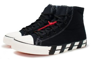 ALL STAR CHUCK TAYLOR OFF WHITE MASCULINO - BLACK