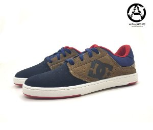 Tenis DC Shoes Plaza TC Masculino - Azul e Marrom