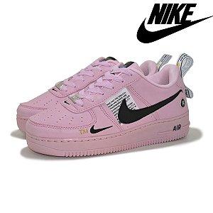 Tênis Nike Air Force 1 Feminino Rosa - Envio Imediato