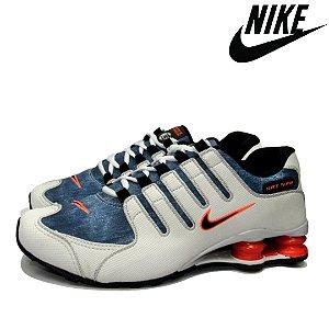 Tênis Nike Shox NZ Jeans Premium Masculino | Lançamento