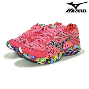 Tênis Mizuno Wave Prime 9 Osaka Feminino - Rosa