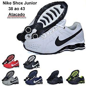 Tênis Nike Shox Junior Masculino Atacado - Caixa com 12 Pares | Frete Grátis