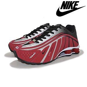 Tênis Nike Shox R4 Neymar 4 Molas Masculino - Vermelho