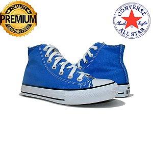 Tênis Unissex Converse All Star Cano Medio Premium - Azul