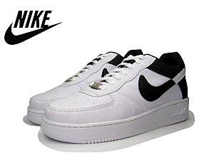 Tênis Nike Air Force NBA Edition Masculino - Branco e Preto