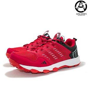 Tênis Adidas Kanadia TR7 Masculino Ciclismo - Vermelho e Preto
