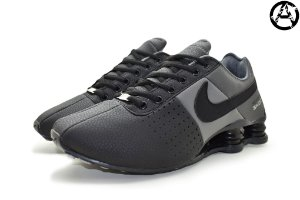 Tênis Nike Shox Classic Deliver Masculino - Grafite e Preto