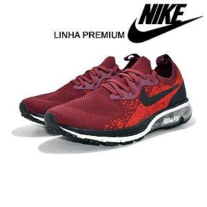 Tênis Nike Air Max Epic React Flyknit Masculino - Vermelho