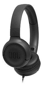 Fone de ouvido JBL Tune 500 Preto - Frete Grátis Full
