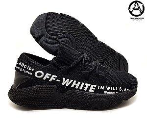 Tênis Masculino Adidas Off White TM Preto - Promoção