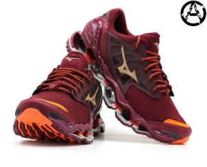 Tênis Mizuno Wave Prophecy 9 Masculino - Bordô