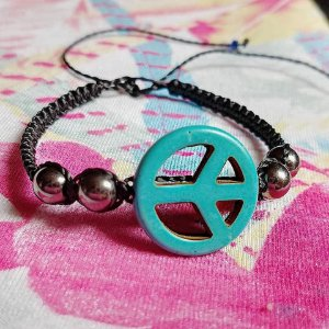 Pulseira símbolo da paz