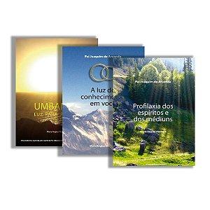 Kit conhecimento 01 - 3 livros