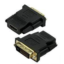 ADAPTADOR HDMI FÊMEA P/ DVI 24 1 MACHO GENERICA BOX