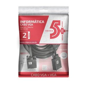 CABO VGA 2 M 018-9511 5+ BOX