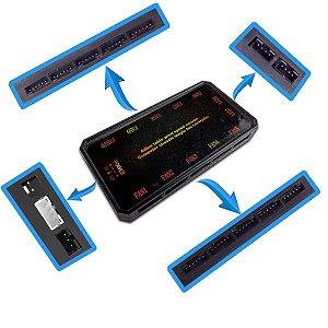 CONTROLADORA SUPORTA 10 FANS E 2 FITA LED RGB EWLC01 C/ CONTROLE PIXXO BOX