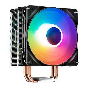 COOLER PARA PROCESSADOR UNIVERSAL DP-MCH4-GMX400-XT 120MM LED RAINBOW GAMMAXX 400XT DEEP COOL BOX