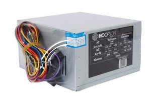 FONTE ATX 230W REAL 20/24 PINOS FNT-230W 2* SATA 2* IDE S/CABO HOOPSON OEM