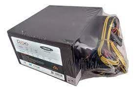 FONTE ATX 400W 20/24 PINOS PGC400 4* SATA 2* IDE PIXXO BOX
