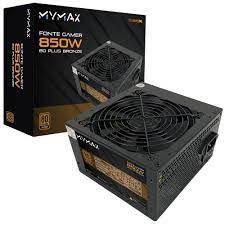 FONTE ATX 850W MPSU/FP850W PFC ATIVO 80 PLUS BRONZE MYMAX BOX