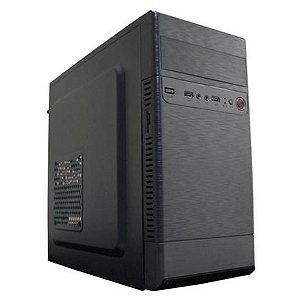 GABINETE 1 BAIA ATX OFFICE P 04 CM53Y1RH0020C1X S/FONTE PRETO NTC BOX