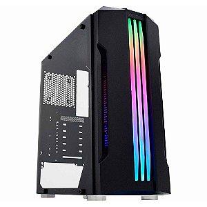 GABINETE GAMER MID-TOWER BIFROST M.CG-02QI RGB K-MEX BOX