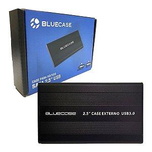 GAVETA PARA HD/SSD 2.5 SATA USB 3.0 BCSU302 BLUECASE BOX