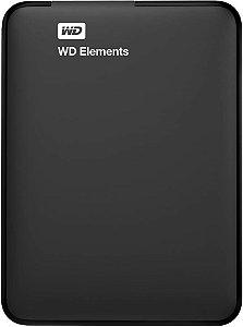 HD 1000GB USB 3.0 WDBUZG0010BBK EXTERNO ELEMENTS WESTERN DIGITAL BOX