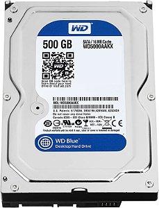 HD 500GB SATA 3 6GB/S WD5000AUDX 7200RPM 32MB WESTERN DIGITAL BOX