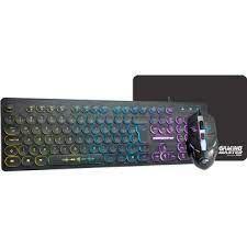 KIT TECLADO | MOUSE | MOUSEPAD COM LED GAMER B3KM7628U01CB1X USB KMEX BOX