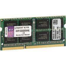 MEMORIA 8GB DDR3 1333 MHZ NOTEBOOK KVR1333D3S9/8G KINGSTON OEM