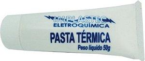 PASTA TERMICA BISNAGA 50 GRAMAS IMPLASTEC BOX