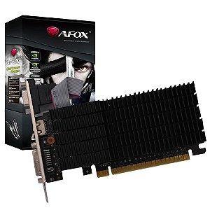 PLACA DE VIDEO 2GB PCIEXP GT 730 AF730-2048D3L6(DDR3) 128BITS DDR3 GEFORCE VGA HDMI DVI-I AFOX BOX