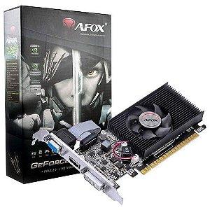 PLACA DE VIDEO 4GB GT730 GT730LP-4GD3-C DDR3 128 BITS GEFORCE VGA HDMI DVI-I GENERICO OEM
