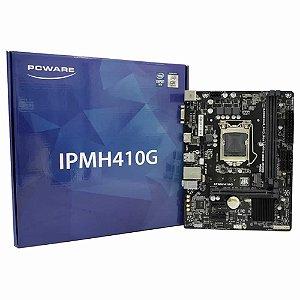 PLACA MAE LGA 1200 MICRO ATX IPMH410G DDR4 VGA/HDMI USB 3.0 PCWARE BOX