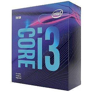 PROCESSADOR 1151 CORE I3 9100F 3.60GHZ COFFEE LAKE 6 MB CACHE SEM GRAFICO QUAD CORE INTEL BOX