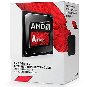 PROCESSADOR A6 FM2+ 7480 3.8 GHZ 1 MB CACHE AMD BOX