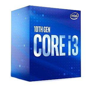 PROCESSADOR CORE I3 1200 10100F 3.6 GHZ 6 MB CACHE COMET LAKE INTEL BOX
