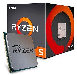 PROCESSADOR RYZEN 5 AM4 1600 3.2 GHZ 19 MB CACHE SEM GRAFICO AMD BOX