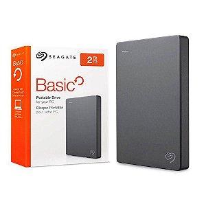Produto HD 2000GB USB 3.0 STJL2000400 EXTERNO BASIC SEAGATE BOX