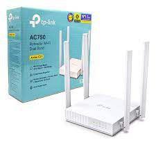 ROTEADOR WIRELESS AC750 ARCHER C21 10/100 4 ANTENAS TP-LINK BOX