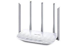 ROTEADOR WIRELESS ARCHER C50 AC1200 300 MBPS 1 PORT WAN 4 PORT LAN DUAL BAND TP LINK BOX IMPORTADO