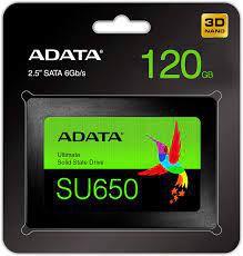 SSD 120GB SATA III SU650 ASU650SS-120GT-R ADATA BOX