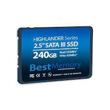 SSD 240GB SATA 6GB/S BTSDA-240G-535 HIGHLANDER BESTMEMORY BOX
