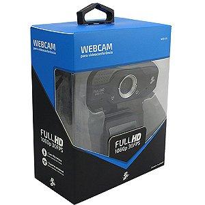 WEB CAM USB C/ MIC 015-0075 1080P 30FPS CHIP SCE BOX