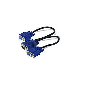 CABO VGA 20 CM Y 1 MACHO PARA 2 FEMEA DEX BOX