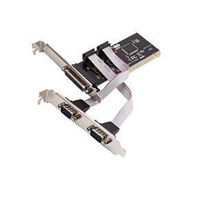 PLACA PCI C/ 2 SERIAL E 1 PARALELA LT-P24556 LOTUS BOX